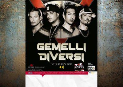 2012_Gemelli Diversi_tutto da capo tour