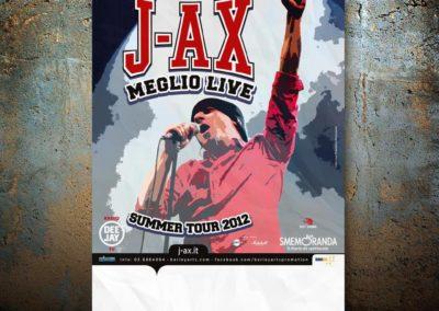 2012_J-AX_meglio live_summer tour